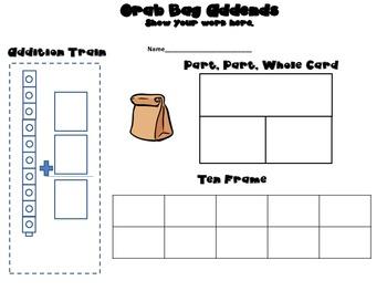 Grab Bag Addends