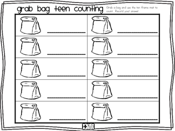 Grab Bag Teen Counting