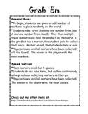 Grab 'Em - A Multiplication Game