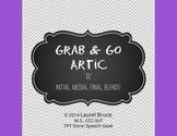 Grab & Go Artic-Articulation Cards: R