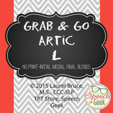 "Grab & Go Artic-No Print Articulation ""L"""
