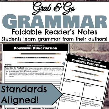 9d82a3194cd4 Grab   Go Grammar Foldables  Learn Grammar from Your Favorite Authors!