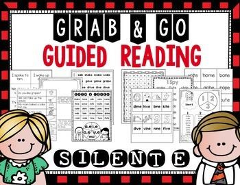 Grab & Go Guided Reading: Silent E