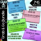 Grab & Go Math Flash Cards BUNDLE  [Multiple Concepts]