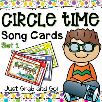 Songs, Rhymes and Nursery Rhyme Cards - Set 1