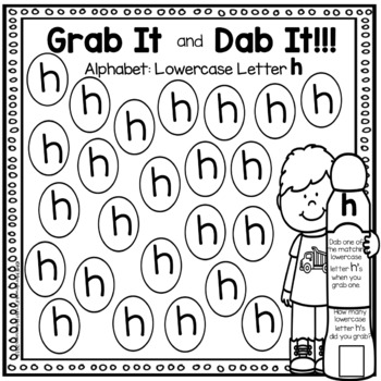 Grab It And Dab It: Lowercase Letters A-Z