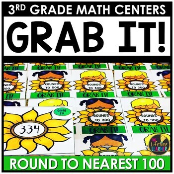 Grab It Round to Nearest Hundred September Math Center