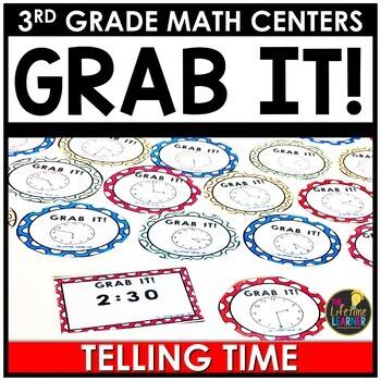 Telling Time April Math Center