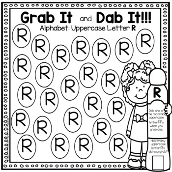 Grab It and Dab It: Uppercase Letters A-Z
