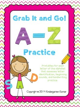 Grab It and Go! A-Z Practice