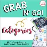 Grab N' Go Categories {Sorting, Classifying, & MORE!}