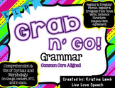 Grab N' Go Grammar {Common Core Aligned}