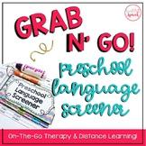 Grab N' Go Preschool Language Screener