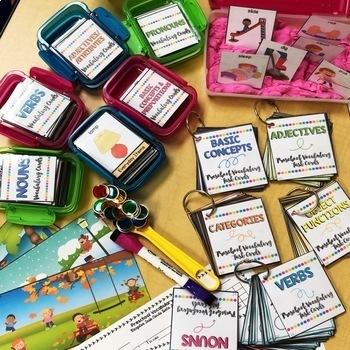 Grab N' Go Preschool Vocabulary