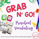 Grab N' Go Preschool Vocabulary