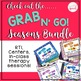 Grab N' Go Spring Pack for Speech and Language