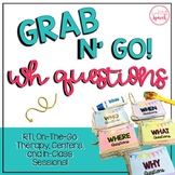 "Grab N' Go ""WH"" Questions"