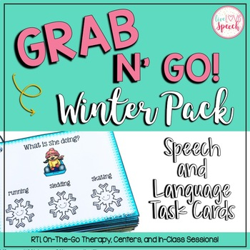 Grab N' Go Winter Pack for Speech and Language