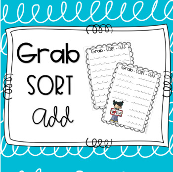 Grab, Sort and Add - Adding Multiple One Digit Numbers