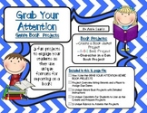 Grab Your Attention Genre Book Projects: Unique Book Reports for Students