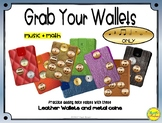 Grab Your Wallets - Quarter, Quarter Rest, Paired Eighth,