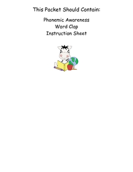Grab a Bag and Go! Phonemic Awareness / Centers & Small Groups Book 7