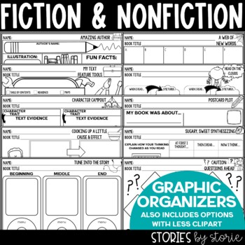 Graphic Organizers & Reading Response Sheets