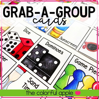 Grab a Group Cards