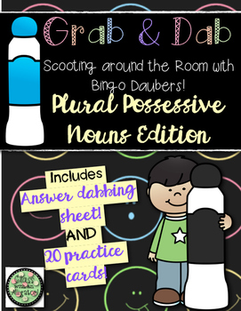 Grab and Dab Scoot for Plural Possessive Nouns