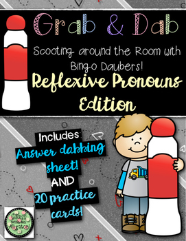 Grab and Dab Scoot for Reflexive Pronouns