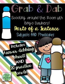 Grab and Dab Subjects and Predicates