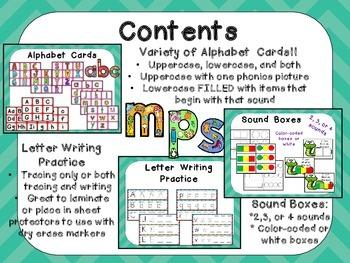 Grab and GO! Literacy Toolkit for Kindergarten Phonics & Phonemic Awareness RTI