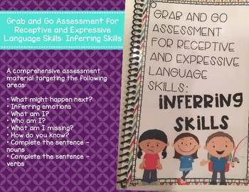 Grab and Go Assessment for Receptive and Expressive Language: Inferring Skills