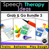 Speech Therapy Grab and Go Bundle
