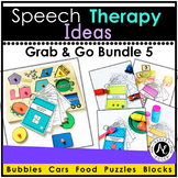 Speech Therapy Grab and Go Bundle 5
