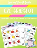 Grab and Go CVC Word Worksheets