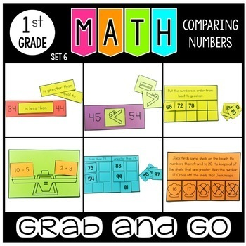Grab and Go Comparing Numbers