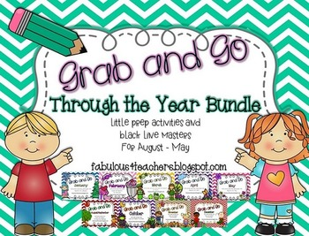 Grab and Go Through the Year Bundle