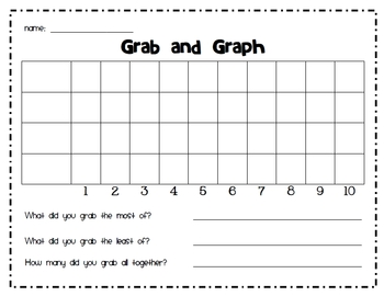 Grab and Graph {Math Centre}