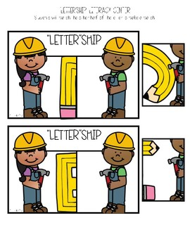 Grab-n-Go: Back to School Literacy Centers