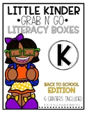 Grab-n-Go: Back to School Literacy Centers