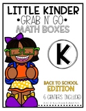 Grab-n-Go: Back to School Math Centers