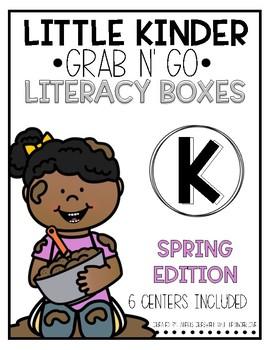 Grab-n-Go: Spring Literacy Centers