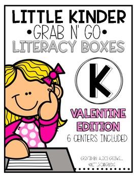 Grab-n-Go: Valentine Literacy Centers