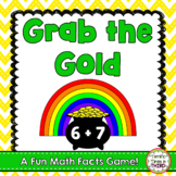 Grab the Gold: A Fun Math Facts Game