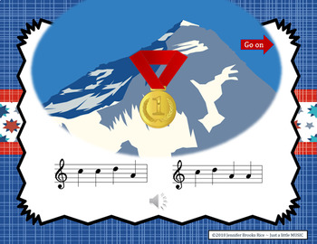 Grab the Gold - Aural Melody Recognition Game  {sol mi la}