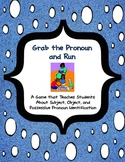 Grab the Pronoun and Run: Identifying Subject, Object, and Possessive Pronouns