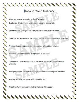 Grabber (Hook) Sentences