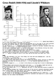 Grace Bedell and Lincoln's Whiskers Crossword
