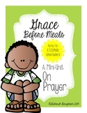 Grace Before Meals Prayer Activity Packet